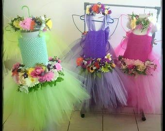 Fairy Dress, Wings, Flower Crown