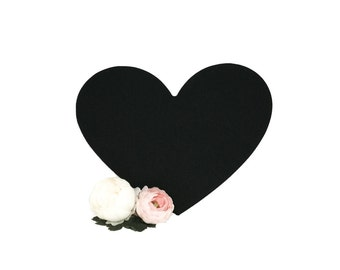 Heart chalkboard | Blank wedding sign | wedding chalkboard