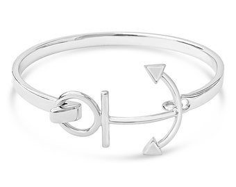 Original Cape Cod Anchor Bracelet -New in Box-Solid silver-Hand Made- NEW
