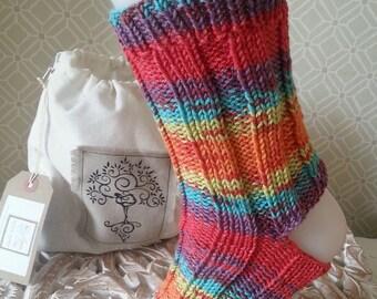 Yoga Socks in a Bag! - brights