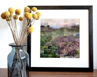 Higger Tor Peak District Print