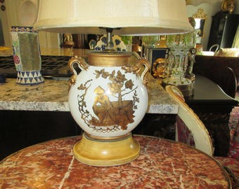 CHINA TOILLE LAMP