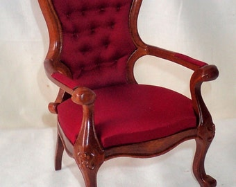 1/6 Scale Arm Chair For 12 Inch Or 14 Inch BJD Fashion Doll Barbie Fashion Royalty Blythe LAST ONE