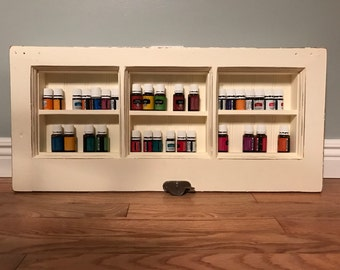 Essential Oil Display Shelf