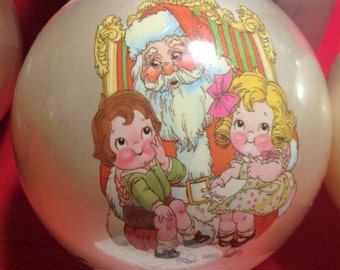 1980 Campbell Kids Christmas Tree Ornaments, Limited Edition, Campbell Soup Company