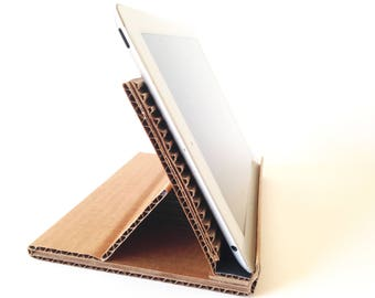 Tablet Eco Stand in Natural Adjustable Portable Earth Friendly Device Stand