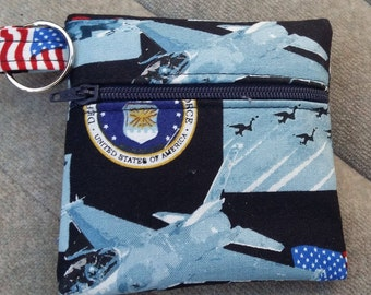 U.S.A Air Force Coin Purse