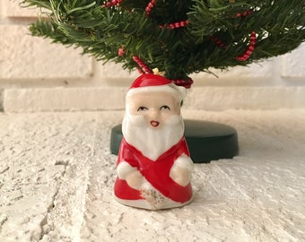 Small Santa Figurine Etsy