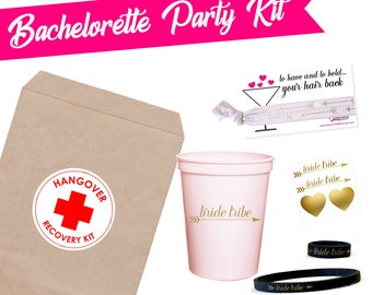 Bachelorette Party Kit- Bachelorette Kit- Bachelorette Party Favors- Last Fling Before the Ring- Classy Bachelorette Party Gifts- Bridesmaid