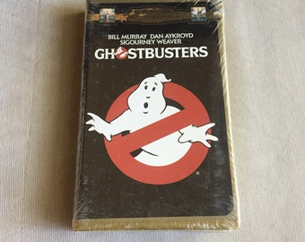 VHS - GHOSTBUSTERS (1984) Clamshell Still Sealed