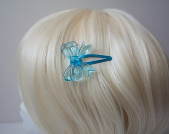 Pale Blue Lolita Bow Hair Clip