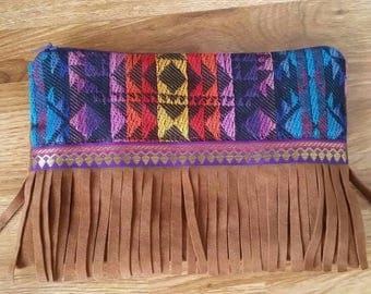 Handmade Boho ethnic pouch / boho / pouch / coin purse / cosmetic bag
