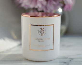 Signature Luxury Candle - Coconut Wax Blend - Your Choice of Fragrance