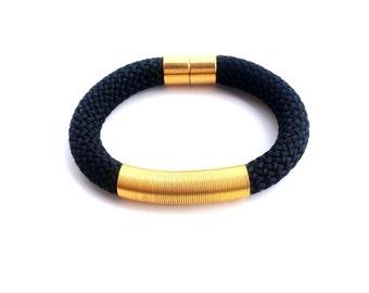 Black bracelet - bracelet for women - women jewelry - gift for her - gift for woman - christmas gift - gift for women - gifts