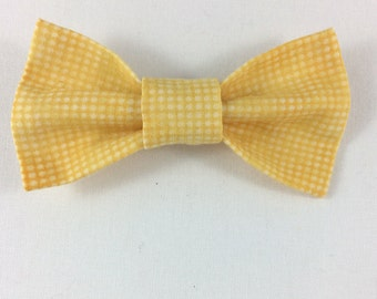 Yellow Cat Bow tie, Cat tie, Cat Bow tie collar