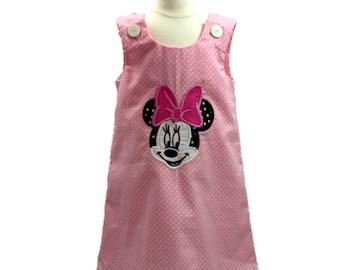 Minnie dress pink  Minnie birthday dress Minnie custom name Minnie custom age Minnie birthday Minnie dress Minnie personalized Minnie party