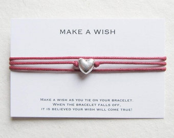 Wish bracelet, make a wish bracelet, friendship bracelet, W44