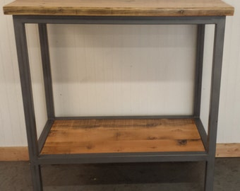 Bar height console Etsy