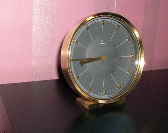Junghans Mantle Clock Brass