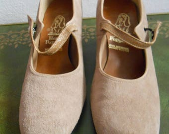 Vintage Wolverine World Wide Hush Puppies Mary Janes Dance Shoes