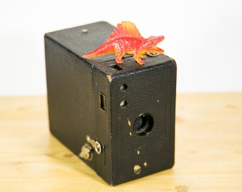 Kodak Brownie 2A Antique Box Camera - #B21