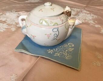 Vintage Novelty Mouse Teapot 1984 Children's Room/Nursery Decor