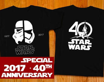 New Star Wars 40th Anniversary T-shirt, Stormtrooper - Star Wars Shirt Star Wars Art Star Wars Gift Star Wars Party The Force Awakens