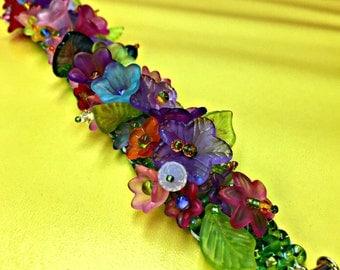 Floral Garden Bracelet