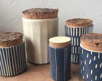 Canisters and jars