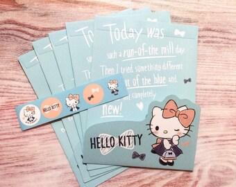 Hello Kitty Envelopes - Die-Cut Flaps