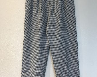 Houndstooth Joan Walters trousers