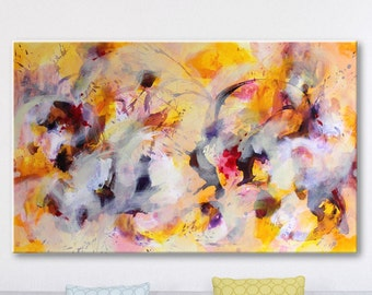 Large Art Abstract Painting Original Art Large Wall art Modern Art Violet Original Paintings on Canvas Contemporary Wall Hanging Canvas art