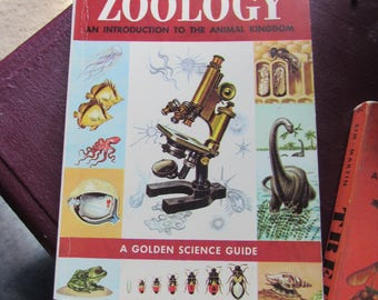 50s Vintage Science Guide Zoology, An Introduction to the Animal Kingdom