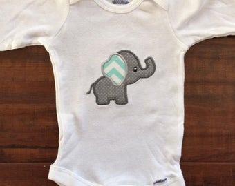 Custom Elephant Onesie or Tshirt
