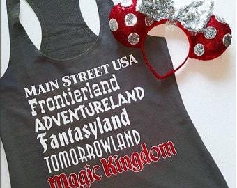 Magic Kindom Lands Tank! Main Street USA, Frontierland, Adventureland, Fantasyland, Tomorrowland! - Great For a Disney Vacation!
