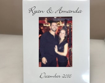 PERSONALIZED! Couples Picture Frame