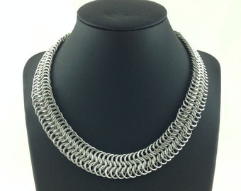 Thick Chainmail Necklace