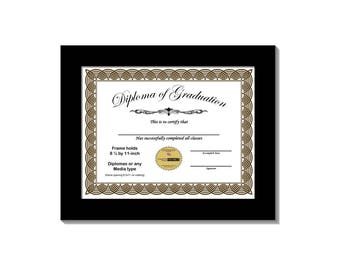 diploma frame displays 85 by 11 inch document graduation university diploma frames - Diploma Framing