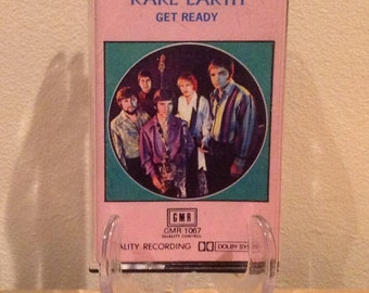Rare Earth - Get Ready Music Cassette