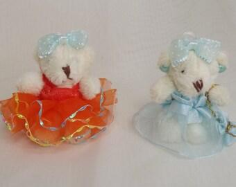Miniature Teddy Bear. Dollhouse Toys, Bears. Key Chain. Bear Key Chains.Women's Key Chains. Bear Ornaments. Bear Pendants. Handmade Bears