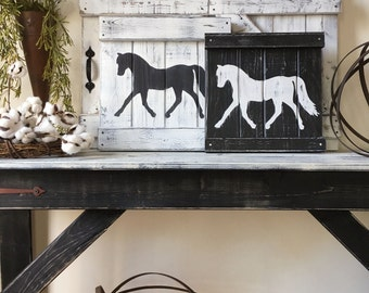 rustic horse decor equestrian wall decor horse decor horse wall art rustic - Horse Decor