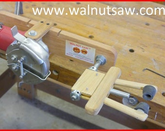 The WALNUT SAW™ - The easy way to get large kernels from Black Walnuts!