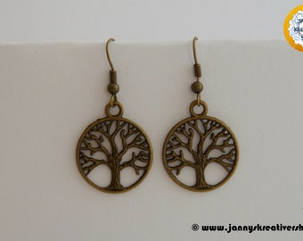 Earring tree, round