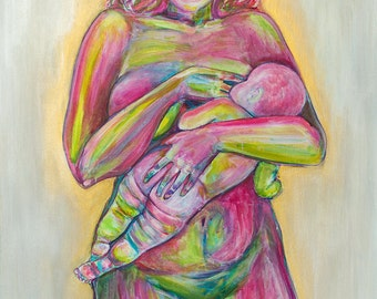 Breastfeeding Mother | Limited Edition Print