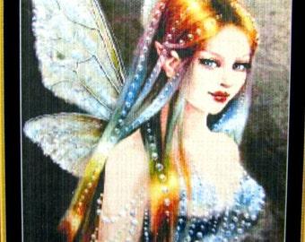 "SALE//* Cross Stitch Pattern ""Fairy of the Rainbow"" MG-174 Pattern Design by Mystic Stitch Inc (2007). Arwork by Maxine Gadd. //On SPECIAL!"