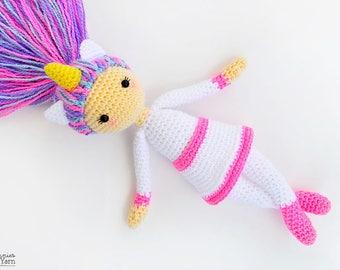 Amigurumi Hawai Doll : CROCHET PATTERN Hannah the Hawaiian Doll Amigurumi Doll