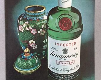 1980 Tanqueray Gin Print Ad