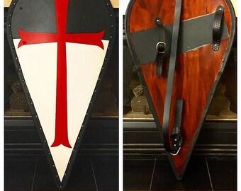 Medieval Knight's Templar Shield