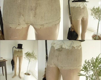 Very rare!!!...Antique male mannequin, display, legs, especially for pants....CHARMANT!