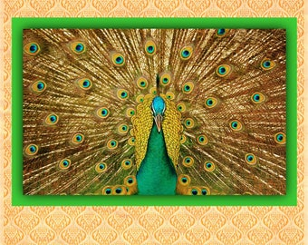 BUY 2 GET 1 FREE!Fab  Peafowl  227 Cross Stitch Pattern Counted Cross Stitch Chart, Pdf Format, Instant Download /231143